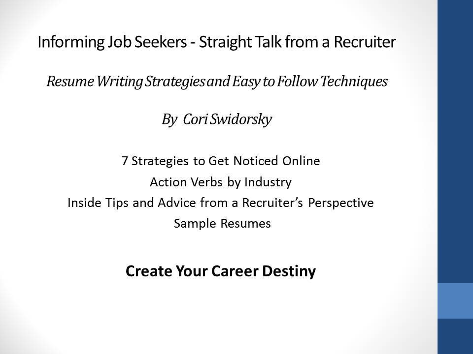Still Struggling With Your Resume? Straight Talk From A Recruiter U2013 Resumes  Ebook